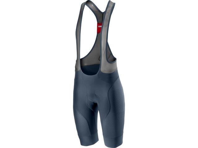 Castelli Free Aero Race 4 Bib Shorts Heren, dark/steel blue